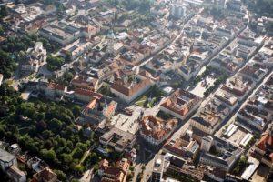 Klagenfurt von Oben