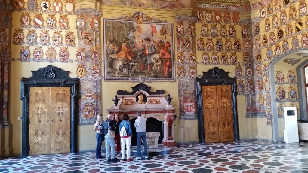 Der Wappensaal