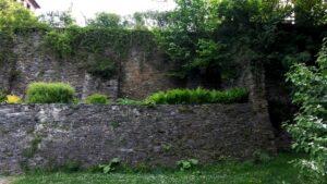 Die Stadtmauer von Klagenfurt
